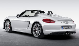 Porsche Boxster Spyder|ポルシェ ボクスター スパイダー