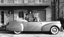 Lincoln Zephyr Continental Cabriolet(1940)|リンカーン ゼファー コンチネンタル コンバーチブル(1940)