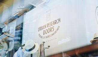 URBAN RESEARCH DOORS|SOMOSOMO BOOKS