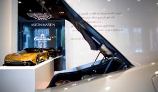 Aston Martin|アストンマーティン ミラノサローネ