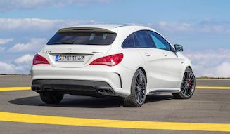 Mercedes-AMG CLA 45 4MATIC Shooting Brake OrangeArt Edition|メルセデスAMG CLA 45 4MATIC シューティングブレーク オレンジアート エディション