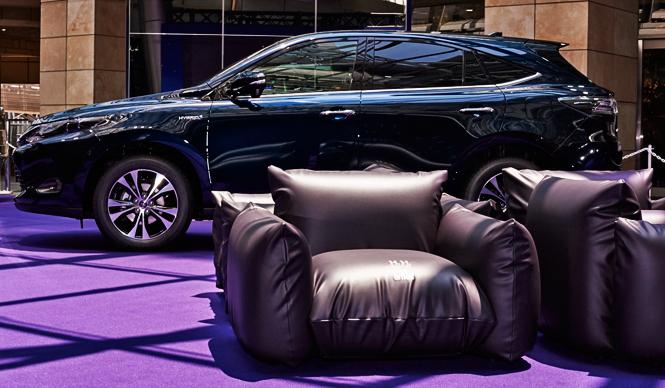 「紫」でつながるコラボレーションへの想い|Toyota Harrier