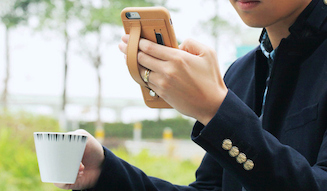 TUNEWEAR|チューンウエア 「TUNEWEAR FINGER SLIP for iPhone 6 Plus」