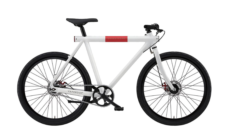 VANMOOFの自転車「D WHITE 26