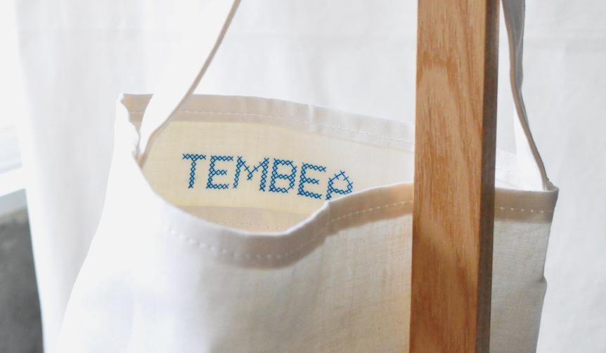 TEMBEA|テンベア 「SINGLE TOTE LINEN」