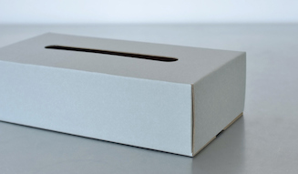 CONCRETE CRAFT Button Tissue Box|コンクリートクラフト ボタンティッシュボックス