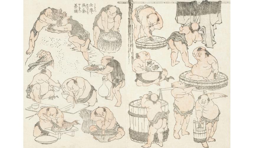 日本橋三越本店|北斎漫画