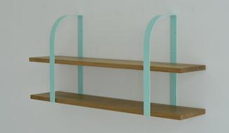 Landscape Products ランドスケーププロダクツ  Wall bracket Solid oak DWL-005-01