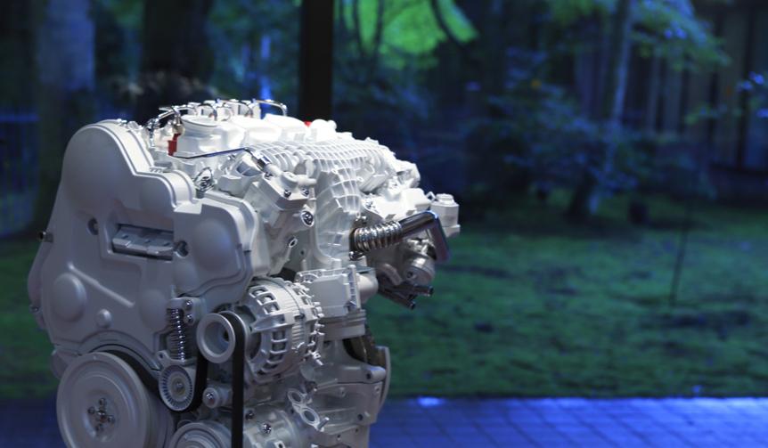 Volvo D4 Engine|ボルボ D4 エンジン