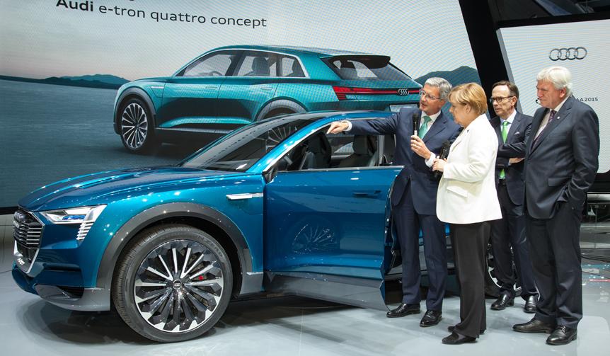 Audi e-tron quattro concept|アウディ e-tron クワトロ コンセプト