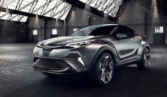 Toyota C-HR Concept|トヨタ C-HRコンセプト