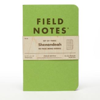 FIELD NOTES フィールド ノート 「SHENANDOAH」