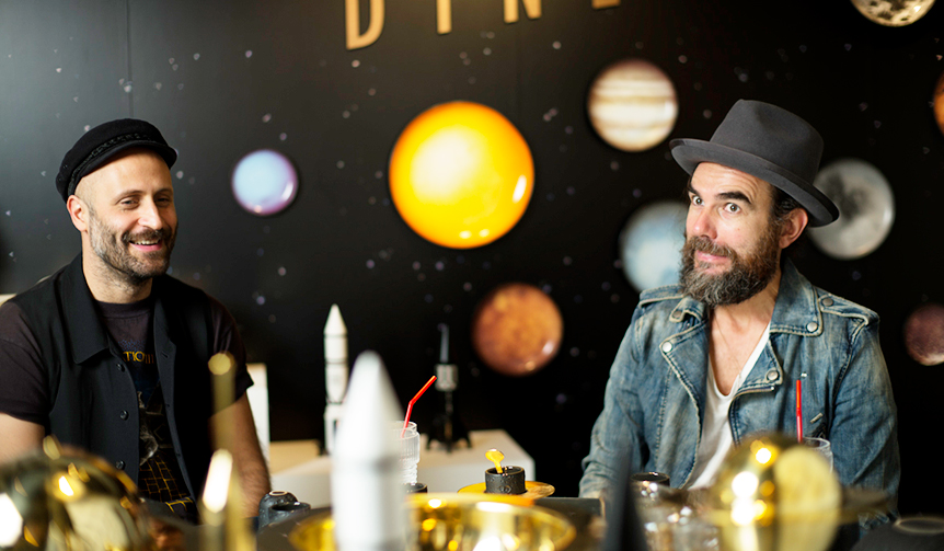DIESEL LIVING with SELETTI|テーブルウェアコレクション「COSMIC DINER」