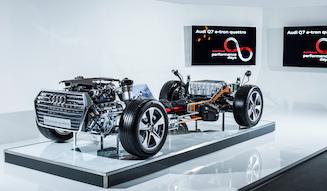 Audi Q7 e-tron|アウディ Q7 e-tron
