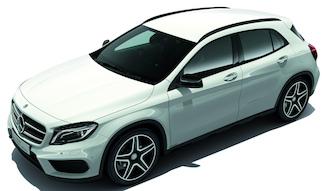 Mercedes-Benz GLA 180 Sports White & Black Edition|メルセデス・ベンツ GLA 180 スポーツ ホワイト&ブラック エディション