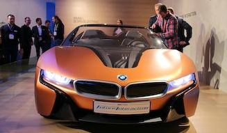 BMW i Vision Future Interaction ビー・エム・ダブリュー iビジョン フィーチャー イントラクション