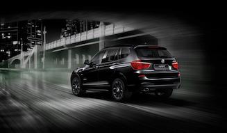 """BMW X3 Celebration Edition""""BLACKOUT""""ビー・エム・ダブリュー X3セレブレーション・エディション""""ブラックアウト"""""""