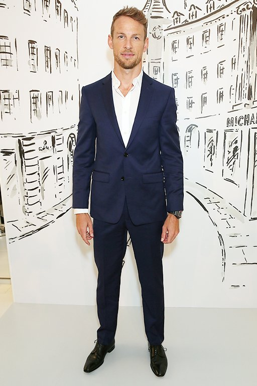 Jenson Button(ジェンソン・バトン)© Getty Images for Michael Kors