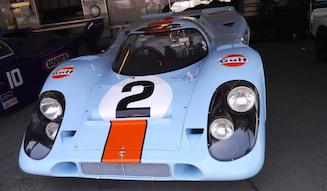 ポルシェ910は1967年の米シーブリング12時間レースでハンス・ヘルマンとジョ・シフェールの操縦で4位入賞