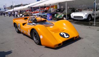 CANAMカテゴリーに出走のマクラーレンM6B(68年)