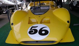 フォードGT40とシェルビー・コブラとシェルビー・マスタングと名マシンをものにしたキャロル・シェルビーの数少ない失敗作(レースで勝てなかった)のがCANAMのためのキングコブラ(63年)で8台しか作られなかった