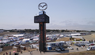 マツダは2001年にラグナシーカの命名権を獲得し「マツダレースウェイ」としている
