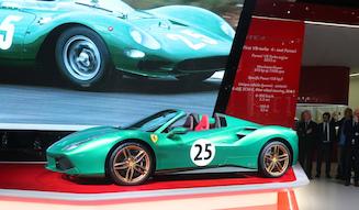 Ferrari 488spider the green jewel|フェラーリ 488スパイダー ザ・グリーンジュエル