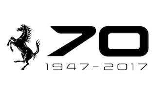 フェラーリ70周年ロゴ