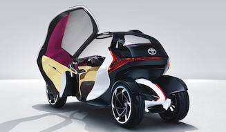 Toyota i-TRIL|トヨタ アイ トリル