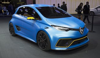Renault ZOE e-sport concept|ルノー ゾエ eスポーツ コンセプト