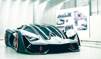 Lamborghini Terzo Millennio|ランボルギーニ テルツォ ミッレニオ 021
