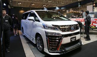 Toyota Vellfire TRD|トヨタ ヴェルファイア TRD