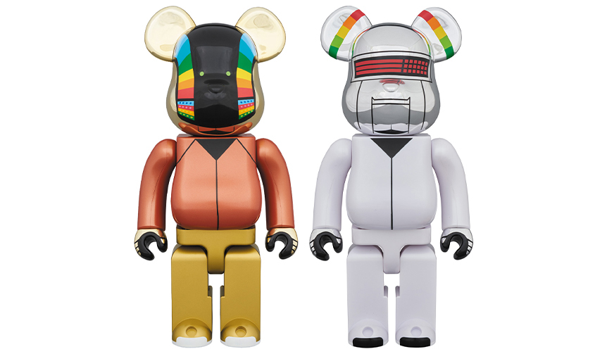 BE@RBRICK DAFT PUNK(DISCOVERY Ver.)2PACK 400%
