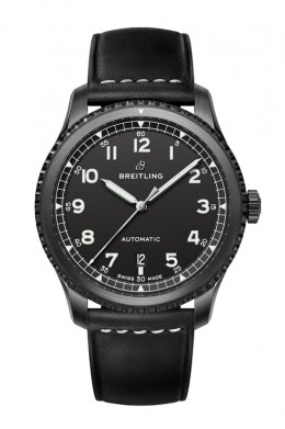 Navitimer-8-Automatic-Blacksteel-with-black-dial-and-black-leather-strap