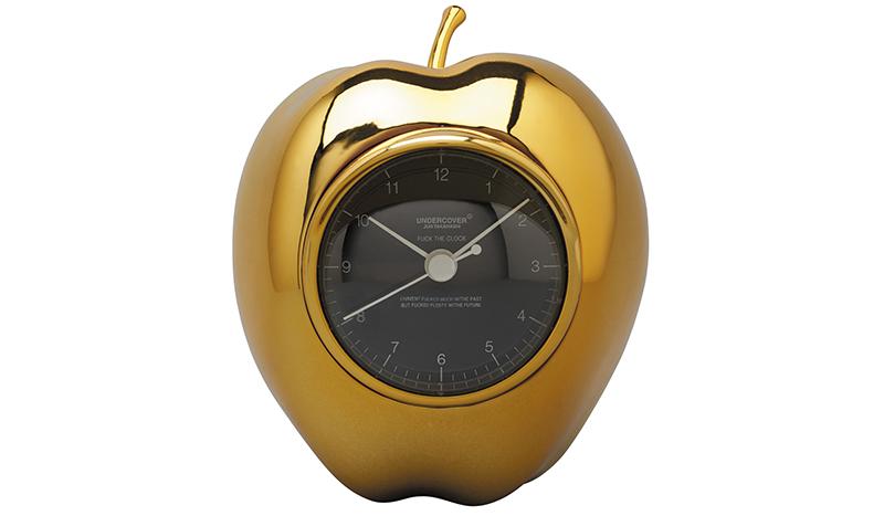 GOLDEN GILAPPLE CLOCK|MEDICOM TOY