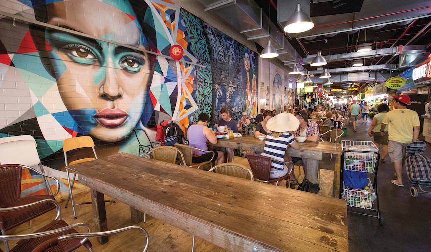 Title: Adelaide Central Market, Adelaide, SA Mandatory credit: Tourism Australia