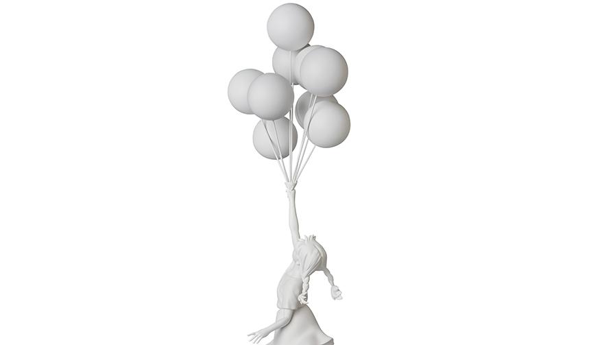 Flying Balloons Girl|MEDICOM TOY