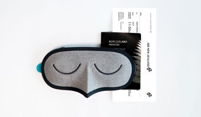 ニュージーランド航空 サステナブル・アイマスク