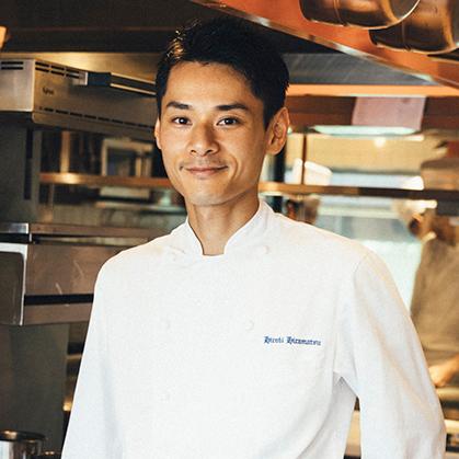 Hiramatsu Hiroki|平松 大樹(ひらまつ ひろき) レストランひらまつ 広尾 店主兼料理長