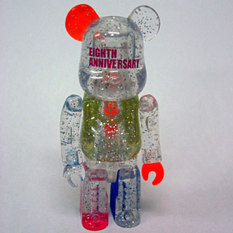 BE@RBRICK×TMT MALTI CLEAR 100%<br>プレゼント!