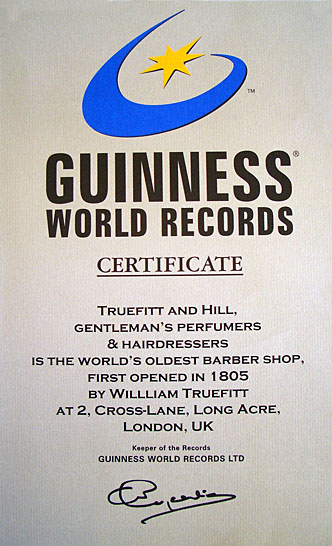 THE STORY OF TRUEFITT&HILL<br>世界最古の理髪店の歴史(その3/21世紀編)<br><br><br>エジンバラ公から創業200年の祝辞をいただく