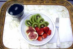 アルフとスキンケアと朝食