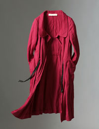 2008.09  赤いコート