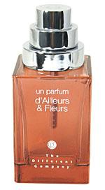 世界的な3つの才能がボトルに凝縮<br><br>『The Different Company』のユニークな香りと特別なパッケージ