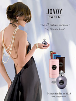 """Les 7 Parfums Capitaux""(7つの大切な香り)<br><br>美しくよみがえった『ジョヴォワ パリ』"