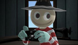 あたたかみあるアナログなコラボ──<br>トイカメラ「DIANA F+」×TVアニメ「スケアクロウマン」