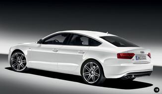 Audi S5 Sportback/Standaufnahme