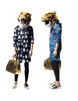 オニツカタイガー|タイガーマスク|2010秋冬コレクション|岩谷俊和