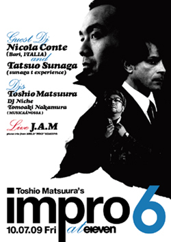 Toshio Matsuura presents impro 6 at eleven