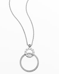 「ポセション」ペンダント、WG×ダイヤモンド(0.34ct)、50万4000円